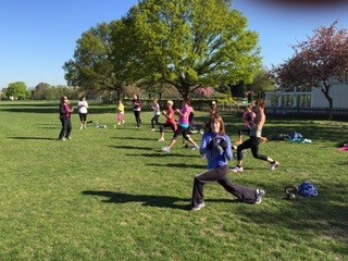 Cardio-Blitz on Wandsworth common